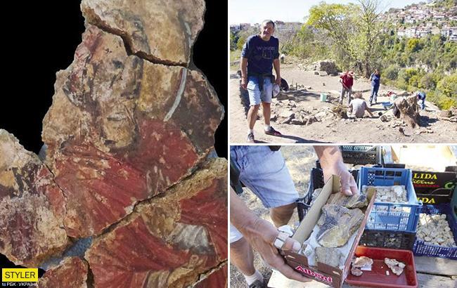 Археологи нашли уникальную фреску с изображением Христа