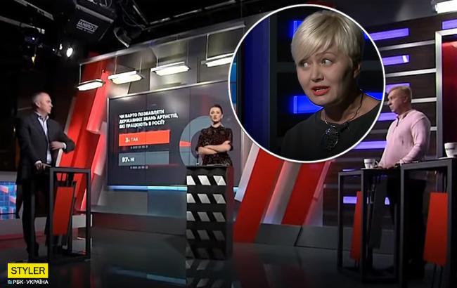 """""""Подводите себя под статью"""": Ницой устроила скандал в прямом эфире (видео)"""