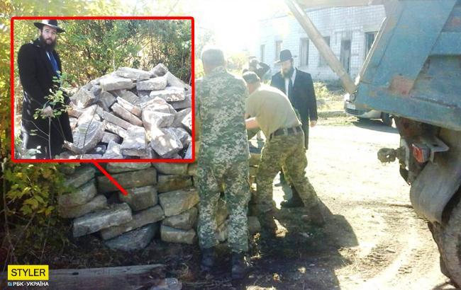 В Черновцах найдены сотни пропавших еврейских надгробий