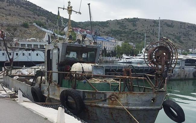 Задержанного в Крыму украинского моряка судна ЯМК-0041 отпустили на похороны матери