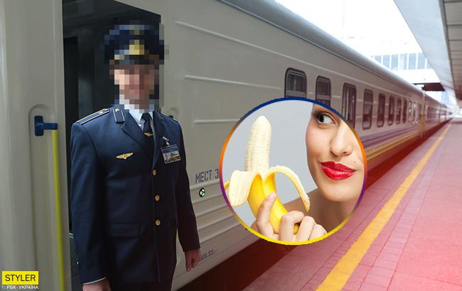 Секс с проводниками вагонов