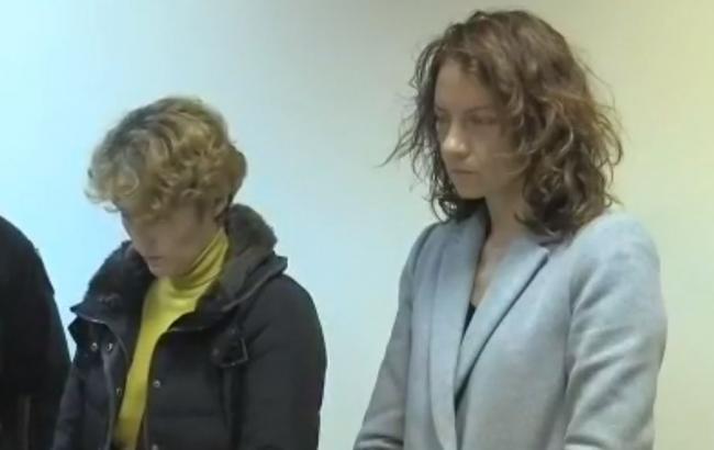 Суд Киева арестовал задержанную за убийство собственных детей женщину