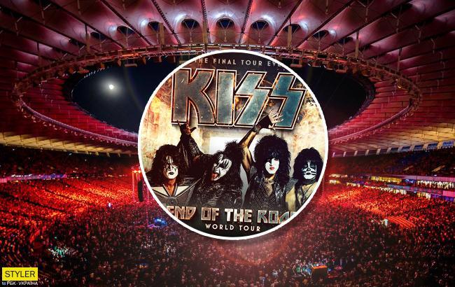 Вперше в історії: в Україну їде культовий гурт Kiss