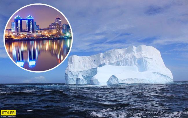 В 5 раз больше Манхэттена: в Антарктиде откололся огромный айсберг