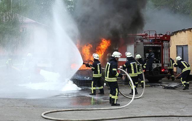 В Запорожской области при пожаре погибли трое детей