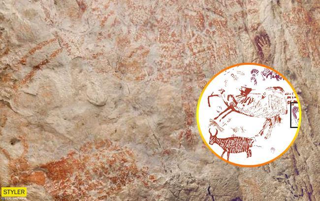 Вчені виявили найдавніше зображення, якому 40 тисяч років