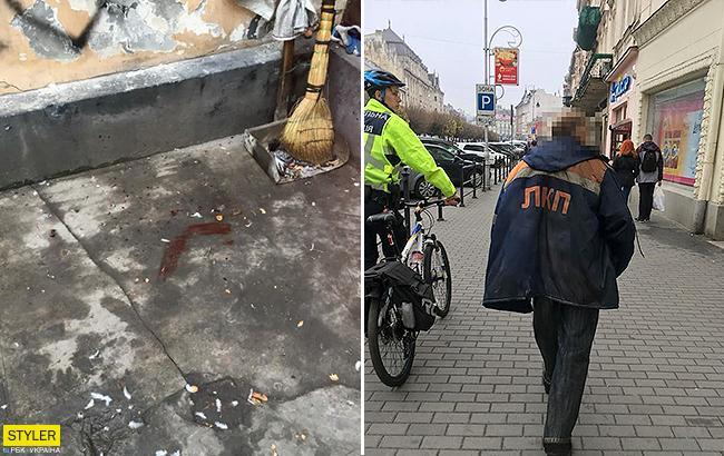 Во Львове дворникзамучил голубя на глазах у детей: коммунальщика задержали