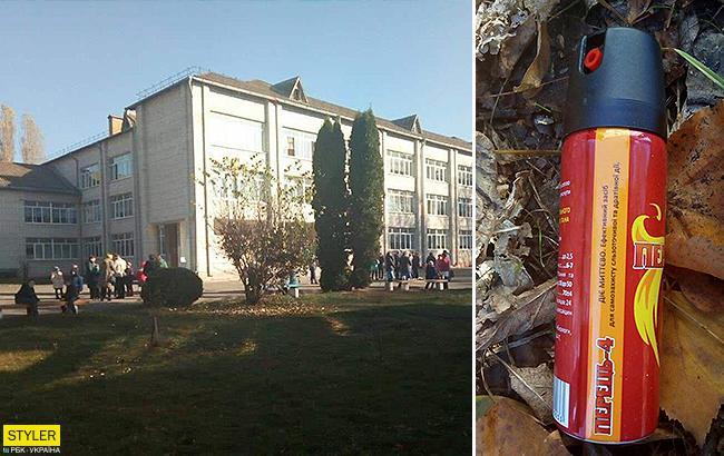 Перцевий газ у школі під Києвом: стало відомо про стан дітей