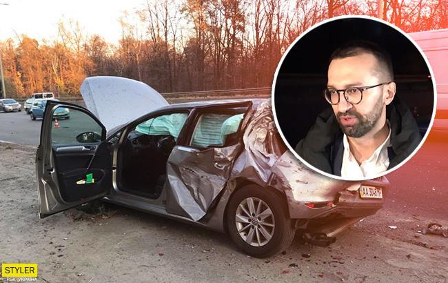 """""""Розвернуло на 180 градусів"""": Лещенко розповів, як сталася аварія"""