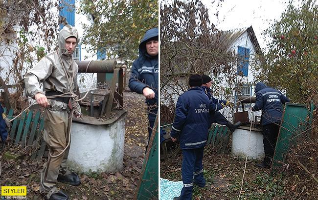 В колодце под Киевом была обнаружена страшная находка