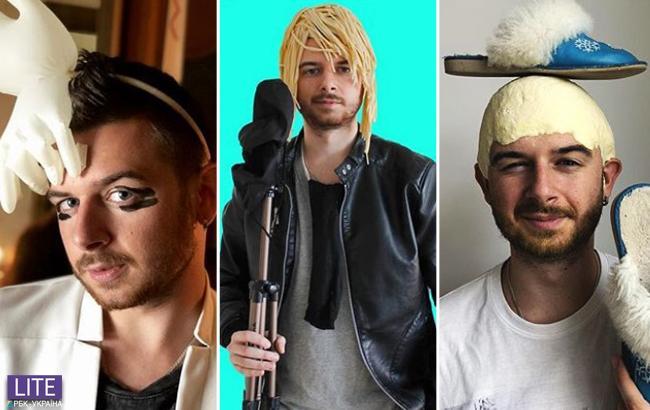 Украинец создает уморительные пародии на звезд: крутые образы