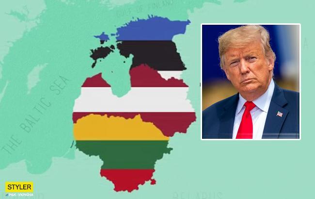 «Двойка» погеографии: Трамп перепутал Балтику сБалканами