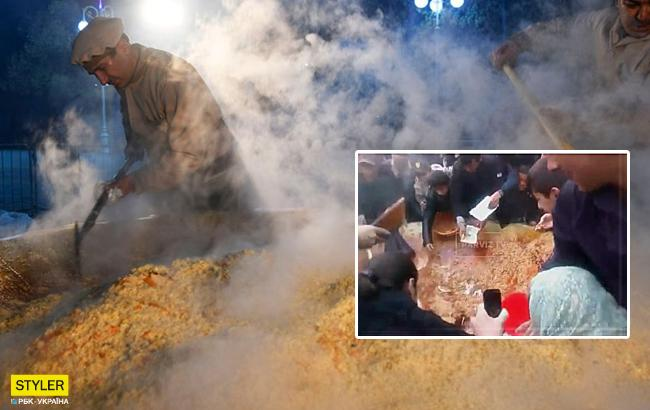 На масштабному фестивалі люди влаштували бійку через їжу