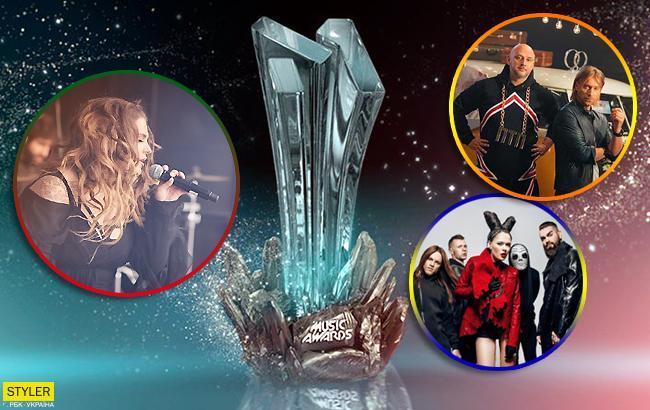 M1 Music Awards 2018: стали відомі номінанти головної музичної премії