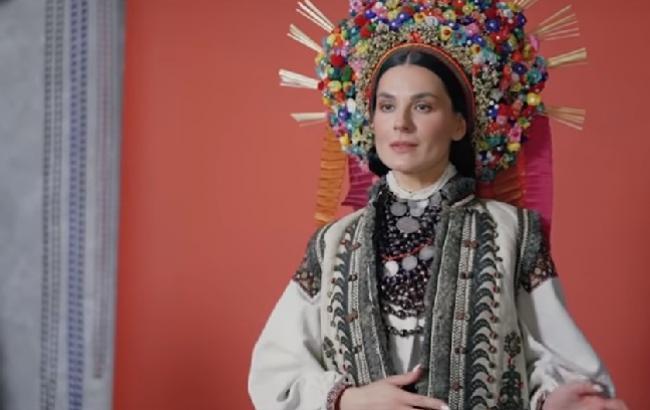 """""""Все делают профессионально"""": Ефросинина рассказала про съемки в образе украинской невесты (видео)"""