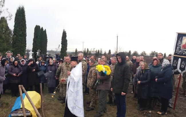 Был жестоко убит: в Тернопольской области попрощались с украинским военным (фото)