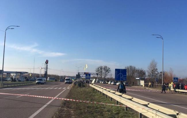 В Закарпатской области перекроют отрезок трассы Киев-Чоп