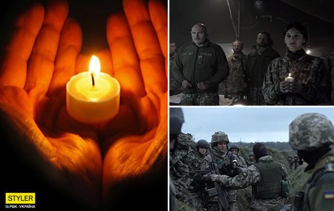 """""""Зажги свечу памяти!"""": военные сняли ролик в память о жертвах Голодомора"""