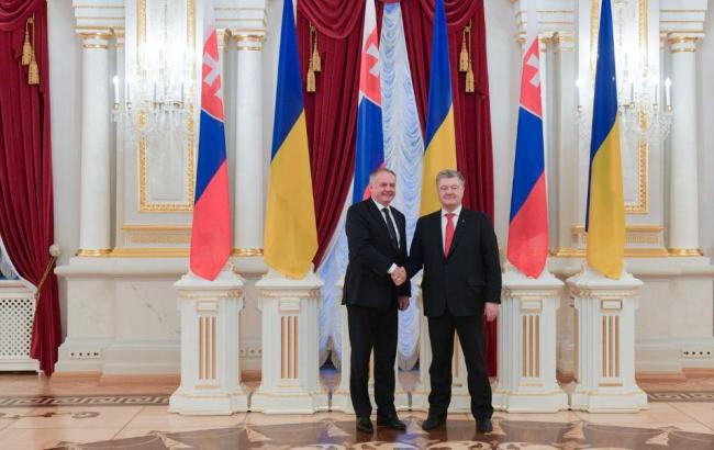 """Порошенко та Кіска скоординували позиції щодо недопущення будівництва """"Північного потоку-2"""""""