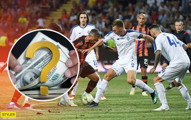 Стала известна средняя зарплата футболистов в Чемпионате Украины