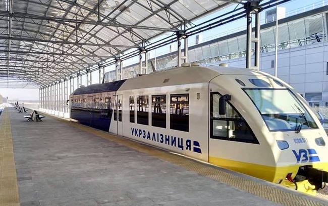 Экспресс из украинской столицы  ваэропорт Борисполь сломался