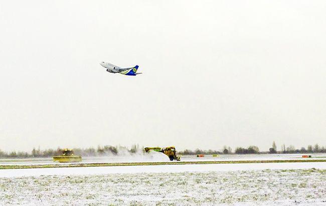 Ряд авіарейсів МАУ затримуються або скасовані через негоду