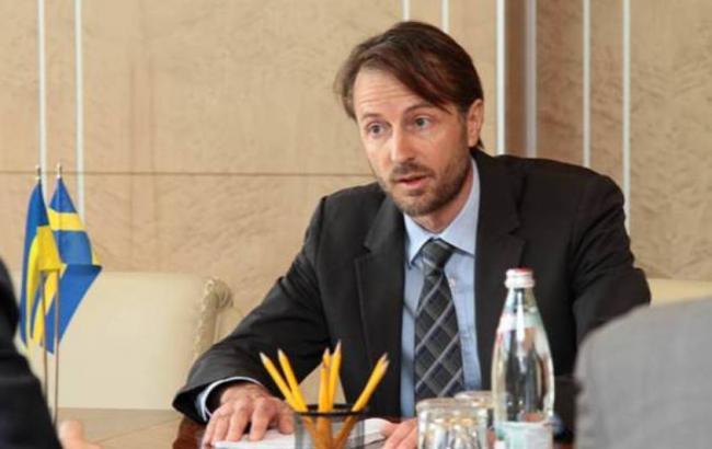 Швеція готова виділити Україні 100 млн доларів кредиту