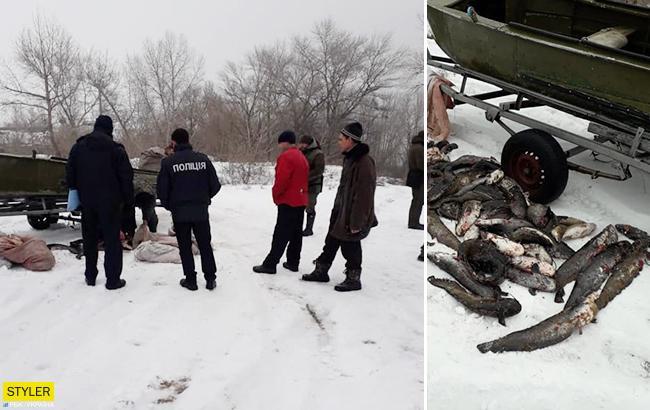 """""""Казнить таких надо"""": в Черкасской области браконьеры уничтожили 140 кг рыбы"""