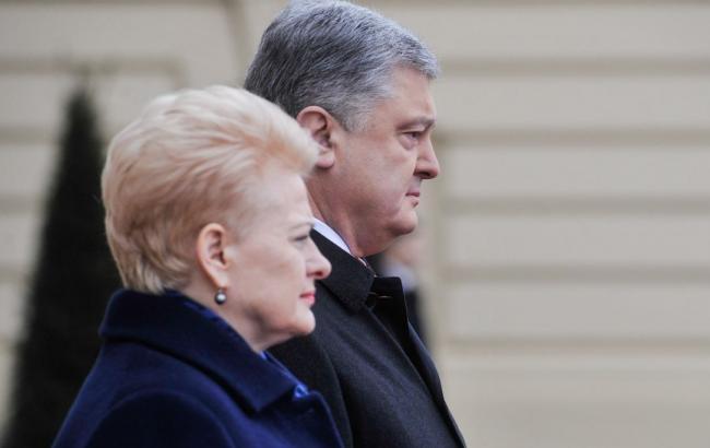 Литва планирует расширить участие в реализации инфраструктурных проектов в Авдеевке, - Порошенко