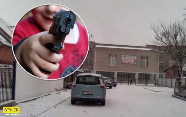 """""""Это ужас!"""": на Волыни ученик пришел в школу с пистолетом"""