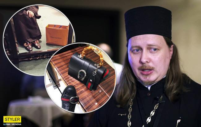 """Гламурний батюшка"": у РФ знайшовся поп в Louis Vuitton"