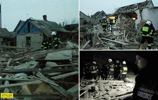 Готовились отметитьденьрождения: подробности взрыва дома в Херсоне (фото)