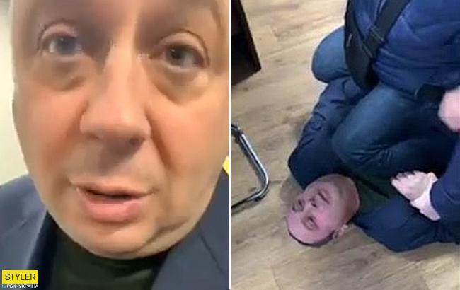 """""""Таких клоунов еще не видел"""": в Херсоне чиновник подрался с активистами (видео)"""