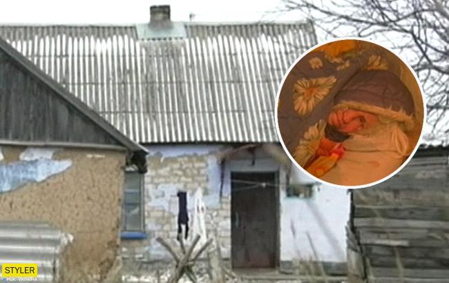 Родной сын довел: в Запорожье женщина забирает еду у собак, чтобы выжить