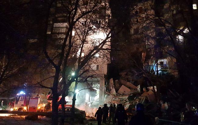 Кількість жертв обвалу під'їзду в Росії зросла