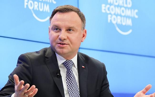 Дуда закликав зберегти та посилити санкції проти РФ