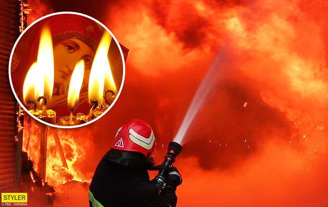 Новый антирекорд: в ГСЧС встревожены статистикой погибших при пожарах на Рождество