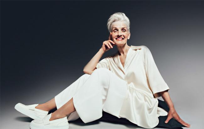 Возраст не помеха: 70-летняя украинка стала моделью в популярном глянце