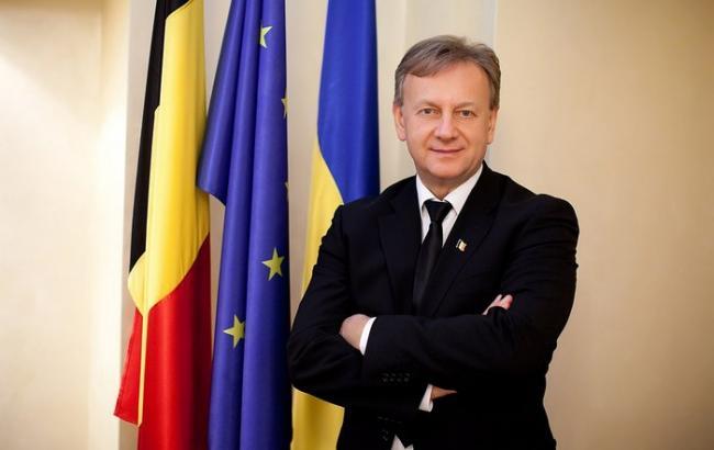 Во Львове избили почетного консула Бельгии