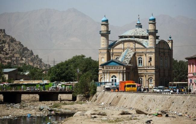 Взрыв прогремел управительственного квартала вКабуле
