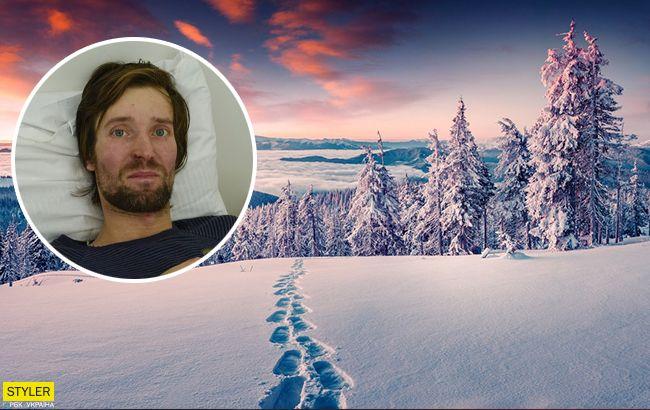 Спасенный лыжник рассказал, как ему удалось выжить
