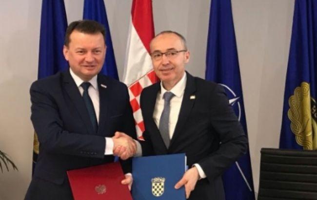 Польща і Хорватія підписали договір про військове співробітництво