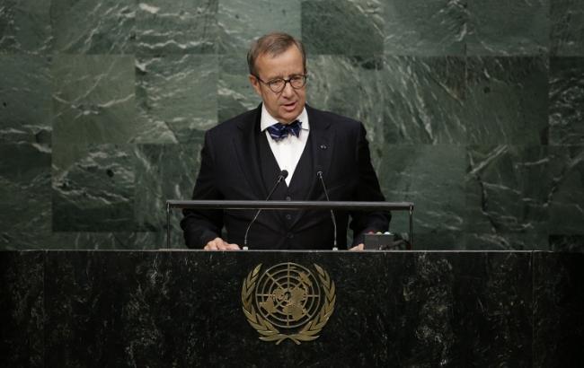 Фото: президент Естонії