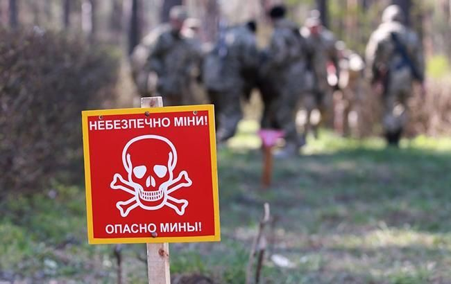 В Украине вступил в силу закон о разминировании на Донбассе