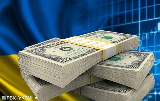 Валовий зовнішній борг України зріс на 4,4 млрд доларів