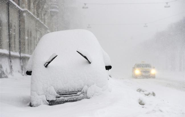 В Україні в результаті снігопадів знеструмлено 117 населених пунктів
