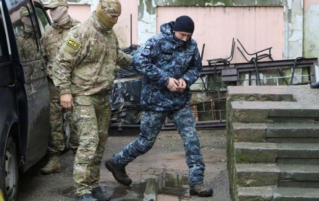 У Росії завершують слідство щодо військовополонених українських моряків