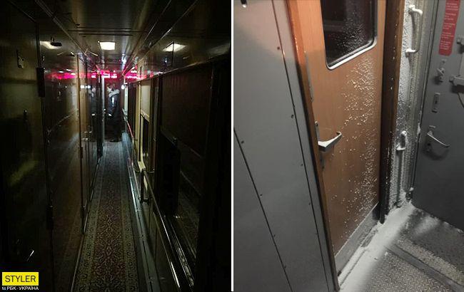 """Ганьба і срам: журналіст показав жахіття міжнародного поїзду """"Укрзалізниці"""""""