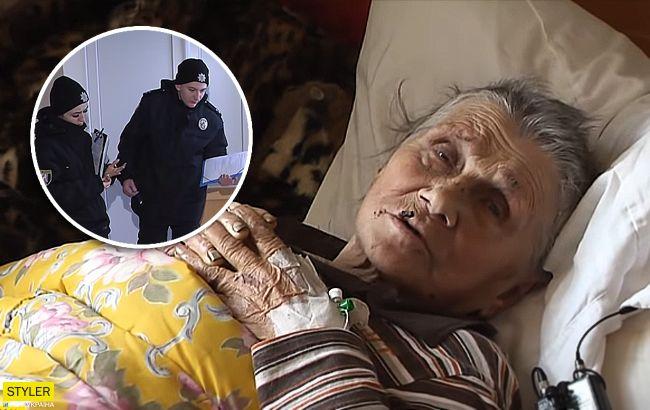 Жила на вулиці в коробках: у Києві екс-поліцейський шляхом обману продав квартиру пенсіонерки