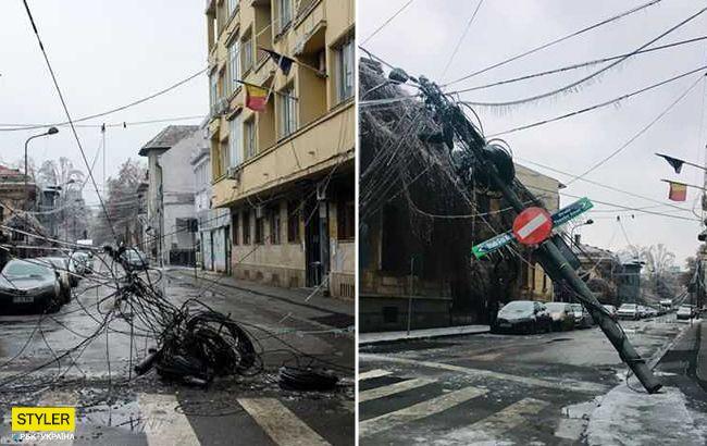 Сусідів України накрили урагани та крижані дощі: шокуючі знімки